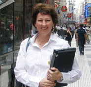Photo of Marilyn Adamson who was an atheist and came to believe in God through science and historical evidence, and now directs EveryStudent.com.