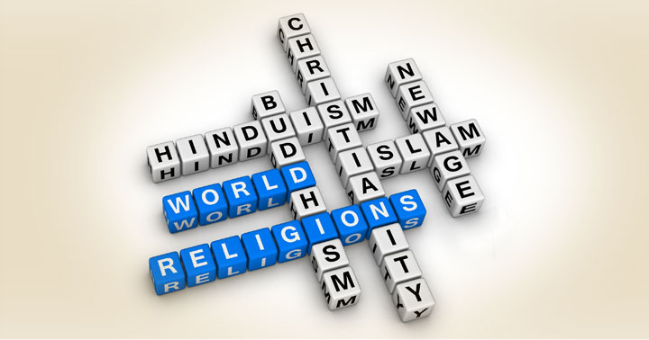 5 Major World Religions See What These Different Religions Believe